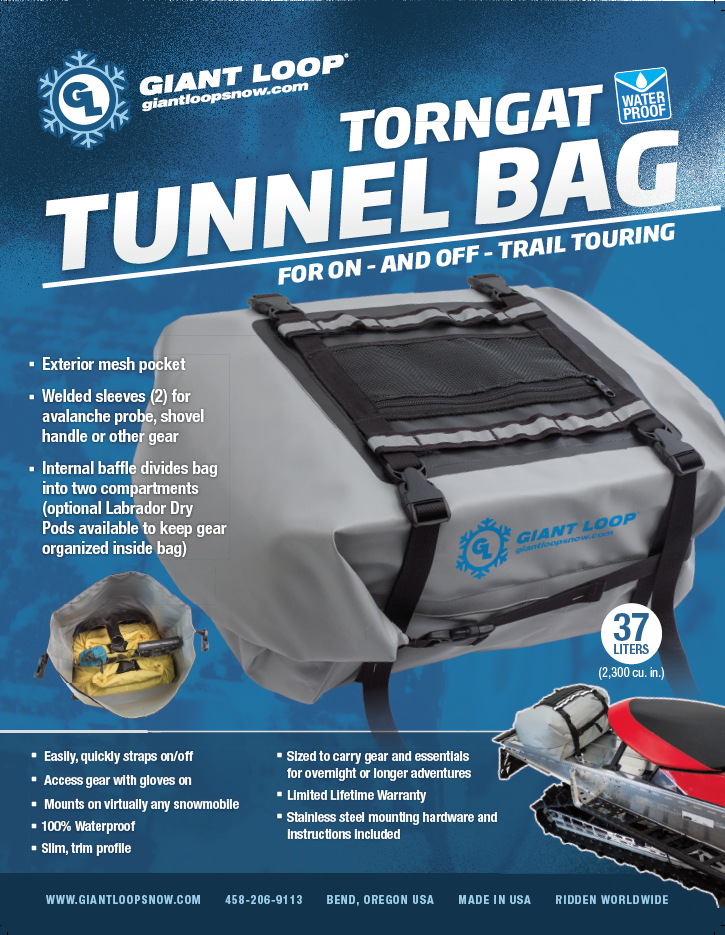 Torngat Tunnel Bag features