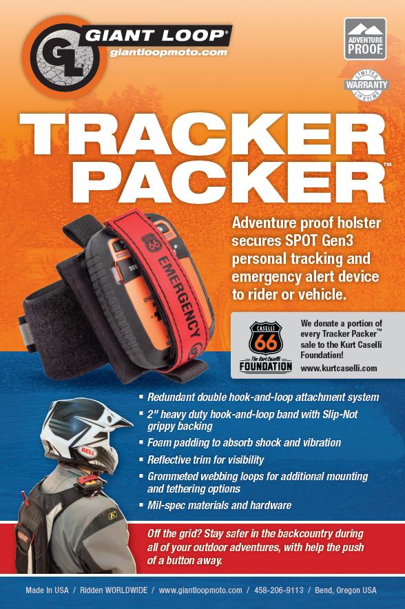 Giant Loop Tracker Packer SPOT Gen3 Holster