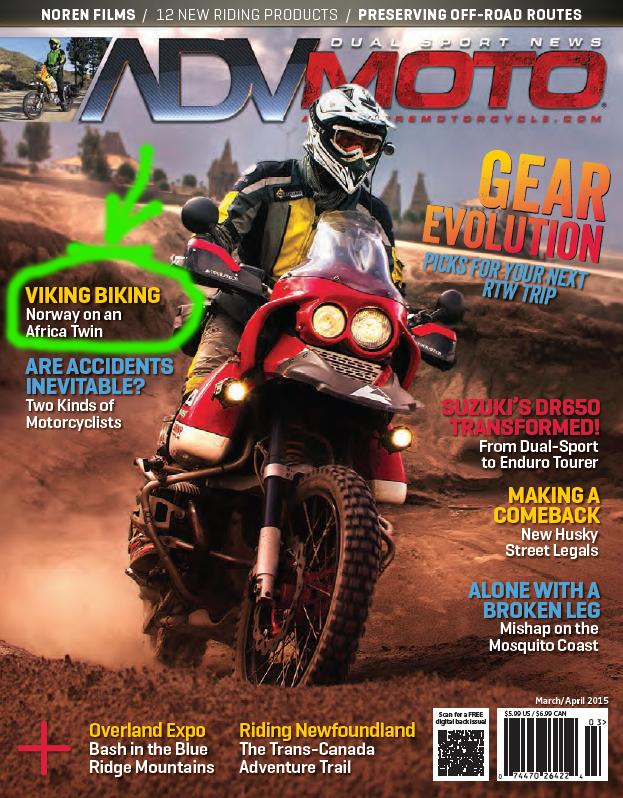 """""""Viking Biking"""" by Harold Olaf Cecil in ADV Moto"""