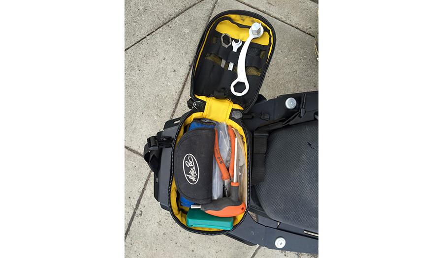 Ochoco Enduro Tail Pack OEP15 rack mount