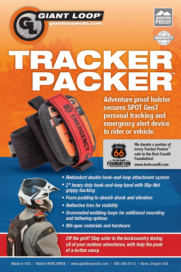 Giant Loop Tracker Packer SPOT Gen3 Holster
