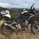 rally raid honda cb 500 x adventure exhaust shield
